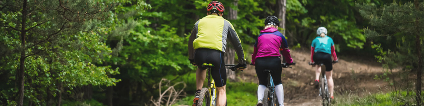 Cyclists enjoy Off-Road Bike Rides in Warren County NY